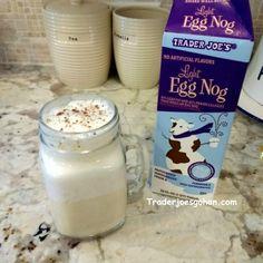 Trader Joe's Egg Nog light $2.99 | #Trader Joes #EggNog
