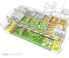 Skisse titteboks / Plus arkitekter