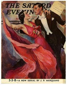 The Saturday Evening Post, Ballroom Dancing (April 10, 1937) by John La Gatta