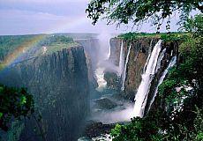 Victoria Falls: 'Rauch, der donnert'