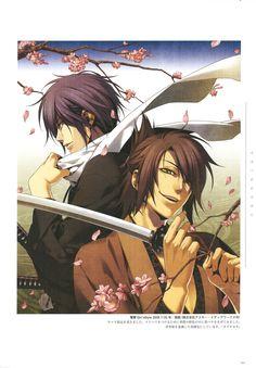okita souji and saitou hajime