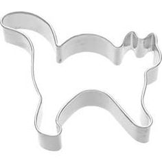 Arched Cat Cookie Cutter