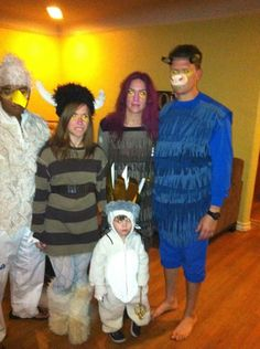 DIY Halloween family costume idea: Max Where the Wild Things Are