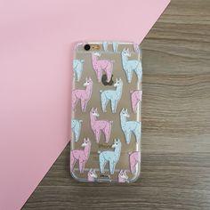 Poppin Llama iPhone Case