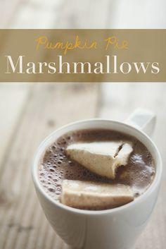 Pumpkin Pie Marshmallows - omg.
