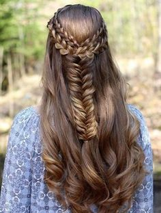 Wish I had long hair to do this hairstyle :P #hairstyle #braids #summerhairstyle #partyhairstyle #soroposo #roposolove #trending #trendy #fashion #whatilove