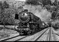 RailPictures.Net Photo: 044 210 Deutsche Bundesbahn Steam 2-10-0 at Altenbeken, Germany by J Neu, Berlin
