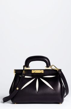 MARNI  Mini Leather Frame Bag
