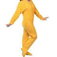 3/26 HOST PICK! TALL Peeps footie PJs Tall XXL Women's Peep patterned PJs! Perfectly soft, fleece like material. Zipper front and easy access tush area for easy middle of the night bathroom trips. Grippy feet! Worn a couple times. footie factory Intimates & Sleepwear Pajamas