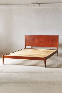 Building a bed very similar but higher backed and out of white oak or white walnut