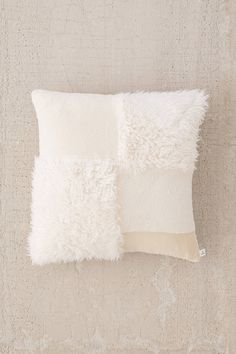 Shop Mabel Patched Faux Fur Oversized Pillow at Urban Outfitters today. We carry all the latest styles, colors and brands for you to choose from right here.