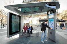 mobilier urbain intelligent paris - Buscar con Google