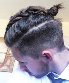 Man braids are the new man buns