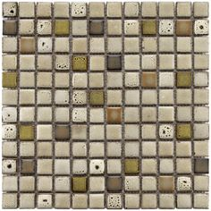 @Overstock - These Tuscan square ceramic tiles will add a contemporary feel to your home. These ceramic tiles feature a mosaic style and come in brown, beige, and tan colors. The tiles come in a pack of 10 and measure 12.5 inches long by 12.5 inches wide.http://www.overstock.com/Home-Garden/Somertile-Tuscan-Square-1-inch-Sierra-Ceramic-Mosaic-Tiles-Pack-of-10/6161896/product.html?CID=214117 $139.99