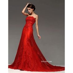 Lace red wedding gown #redlace #redelegance #love #coloredweddingdress