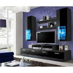 High Capacity Furniture   Wall Unit Toledo 3 · Modern Wall UnitsLiving Room  ...