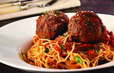 Nobody makes spaghetti & meatballs like Chef Anthony.