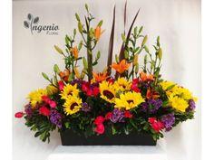 Arreglo de flores combinados