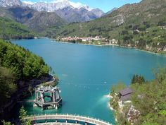 15-20 minutes from my house: Lake Barcis, Italy