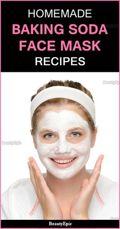 How to Make Face Masks With Baking Soda? The baking soda face mask has capability to clean your skin, destroy an extensive range of potentially harsh pathogens and let you feel better. Face Scrub Homemade, Homemade Face Masks, Diy Face Mask, Homemade Blush, Baking Soda Face Scrub, Baking Soda Shampoo, Face Baking, Baking Soda Mask, Baking Soda Benefits