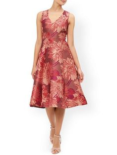 Posey Jacquard Dress