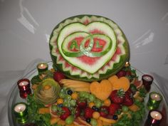 647-271-7971 Watermelon Carving, Fruit, Country, Eat, Healthy, Wedding, Beautiful, Food, Casamento