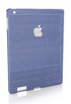 Case para iPad mini com ouro branco e safiras custa R$ 1,4 milhão