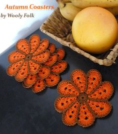 Autumn Coasters by amarilliss on deviantART