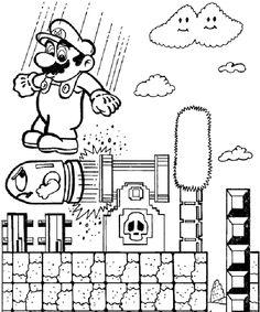 Mario Coloring Pages | ColoringMates. | Art - Coloring | Pinterest ...