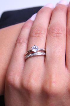 Un combinazione di due fantastici anelli 21DIAMONDS. Venite a trovarci su www.21diamonds.it