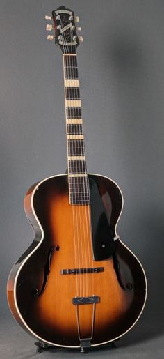 Epiphone Masterbuilt Archtop Guitar