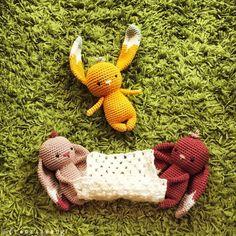 """Gefällt 371 Mal, 25 Kommentare - @prenzlzwerg auf Instagram: """"Hopp Hopp! . pattern available on Etsy . . . #handmade #handmadewithlove #handcraft #craft #crochet…"""""""