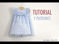 Blusa flamenca de mujer. Como hacer una blusa de mujer. - YouTube