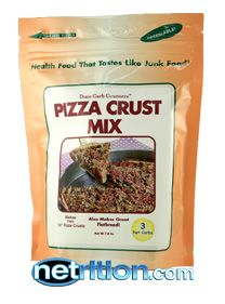 Worth Trying. Low carb pizza crust mix.