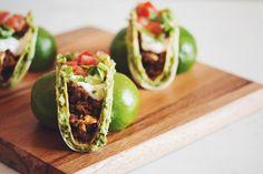 crazy vegan guac tacs | RECIPE on hotforfoodblog.com