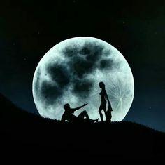 La luna tu y yo