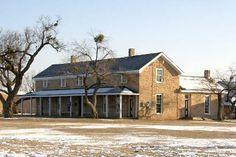 Fort Concho National Historic Site near San Angelo, Texas;  Photos courtesy Barclay Gibson