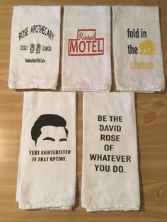 Excited to share the latest addition to my shop: Schitt's Creek Kitchen Towels-Pick Shipping-New designs added! Incredible Gifts, Schitts Creek, First Class Shipping, Kitchen Towels, Favorite Quotes, Best Gifts, In This Moment, Crafty, My Love