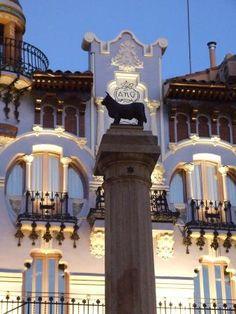 #Turismo de Aragón.- Fachada Modernista en Teruel