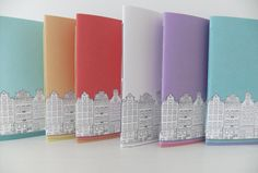 Amsterdam Journal A5 Notebook Blank Journal by peonyandthistle, £9.00