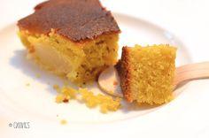 Gâteau aux nectarines, amandes et vanille