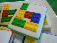 SweetFace'sCookies LEGO cookies
