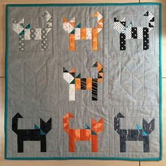 I participated in this amazing swap. When you joined you were assigned a secret partner to make a mini quilt and one other handmade...