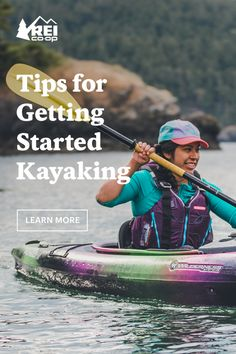 Never kayaked before? Not to worry. Get started with these paddling basics. Recreational Activities, Outdoor Adventures, Outdoor Life, Get Outside, Getting Out, Get Started, The Great Outdoors, Good To Know, Kayaking
