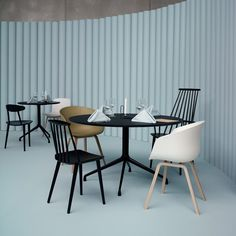 Hay Design About A Chair AAC22 Chair Pantone Color of the Year 2016 Serenity SS16