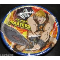 He Man Masters Of The Universe Paper Plates From HardToFindPartySupplies