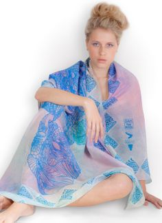 MAIA - Embracing life with all it has to offer, licking the nectar of life as you build the hive of your kingdom… £139 www.byoutifulyou.com/shop/item/MAIASCARVES-maia-scarf #fashion