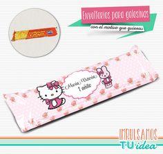 Hello Kitty - Envoltorio Turrón para imprimir