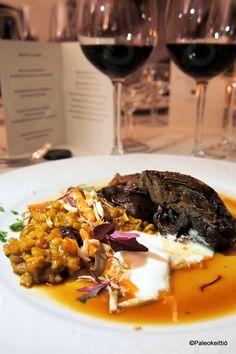 Viinin ja ruoan liitto – Elämyksellinen espanjalaisten viinien ilta Wohls Gårdissa | paleokeittio.fi Steak, Food, Essen, Steaks, Meals, Yemek, Eten