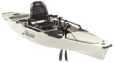 Hobie Mirage Pro Angler 14 Single Fishing Kayak Hobie's original Pro Angler packs extreme fishing utility, with six horizontal rod lockers, enough tackle compartments to empty a store, and an elevated Vantage ST seat that's as muc Pedal Fishing Kayak, Fishing Life, Best Fishing, Fishing Stuff, Fishing Boats, Hobie Pro Angler 14, Kayak Brands, Hobie Mirage, Hobie Kayak